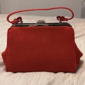 Genuine suede Zara leather purse